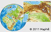 Physical Location Map of Diyarbakır