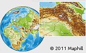 Physical Location Map of Hakkari
