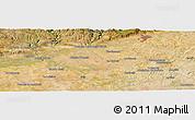 Satellite Panoramic Map of Córdoba