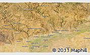 Satellite 3D Map of Carmona