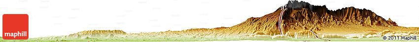 Physical Horizon Map of Khadzhikaraul