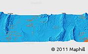 Political Panoramic Map of Qŭrghonteppa