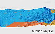 Political Panoramic Map of Farkhor