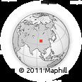 Outline Map of Zagêmarchai, rectangular outline