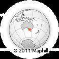 Outline Map of Coonawarra, rectangular outline
