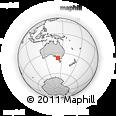 Outline Map of Cathcart, rectangular outline