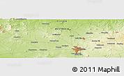 Physical Panoramic Map of Navigator