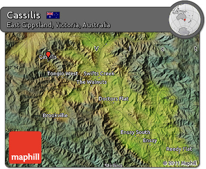 Free Satellite Map of Cassilis