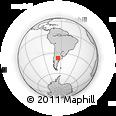 Outline Map of Chacharramendi, rectangular outline