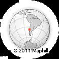 Outline Map of Cerro Alto, rectangular outline