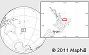 Blank Location Map of Edgecumbe