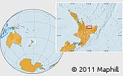 Political Location Map of Edgecumbe