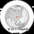Outline Map of Nangsin Sum, rectangular outline