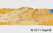 """Political Panoramic Map of the area around 38°9'19""""N,113°7'30""""E"""