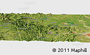 "Satellite Panoramic Map of the area around 38° 9' 19"" N, 113° 58' 29"" E"