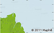 """Physical Map of the area around 38°9'19""""N,119°4'29""""E"""