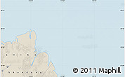 """Shaded Relief Map of the area around 38°9'19""""N,119°4'29""""E"""