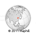 """Outline Map of the Area around 38° 9' 19"""" N, 119° 4' 29"""" E, rectangular outline"""