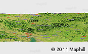 Satellite Panoramic Map of Haeju
