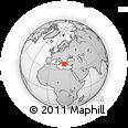 Outline Map of Rio, rectangular outline