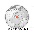 Outline Map of Aléxis, rectangular outline