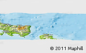 Physical Panoramic Map of Aléxis