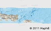 Shaded Relief Panoramic Map of Aléxis