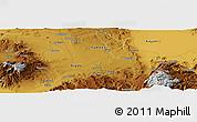 Physical Panoramic Map of Niğde