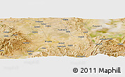 Satellite Panoramic Map of Niğde