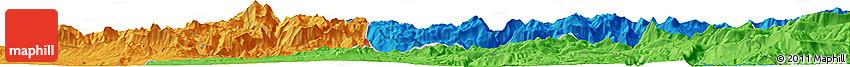 Political Horizon Map of Siirt