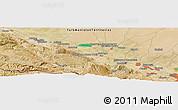 "Satellite Panoramic Map of the area around 38°9'19""N,57°52'30""E"