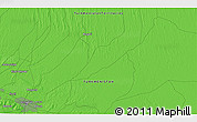 Political 3D Map of Ashgabat