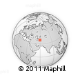 """Outline Map of the Area around 38° 9' 19"""" N, 59° 34' 30"""" E, rectangular outline"""