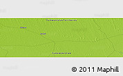"""Physical Panoramic Map of the area around 38°9'19""""N,59°34'30""""E"""