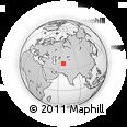 Outline Map of BOYSUN, rectangular outline