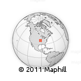 Outline Map of Green Gables, rectangular outline