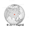 Outline Map of Mahai Nongchang, rectangular outline