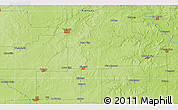 Physical 3D Map of Iola
