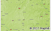 Physical Map of Iola
