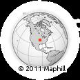 Outline Map of Iola, rectangular outline