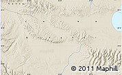 """Shaded Relief Map of the area around 38°9'19""""N,96°58'29""""E"""