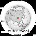 Outline Map of Do'gyüquka, rectangular outline