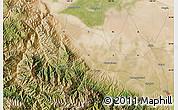 Satellite Map of Shunhua