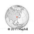 """Outline Map of the Area around 38° 36' 25"""" N, 119° 4' 29"""" E, rectangular outline"""