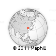 """Outline Map of the Area around 38° 36' 25"""" N, 120° 46' 30"""" E, rectangular outline"""