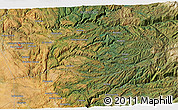 Satellite 3D Map of Frenchtown