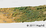 Satellite Panoramic Map of Frenchtown