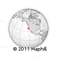 """Outline Map of the Area around 38° 36' 25"""" N, 123° 10' 30"""" W, rectangular outline"""