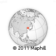 """Outline Map of the Area around 38° 36' 25"""" N, 124° 10' 30"""" E, rectangular outline"""
