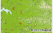 Physical Map of Changch'ŏl-li